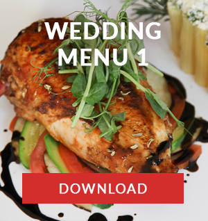 south african WEDDING MENU 1 catering company cape town