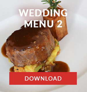 WEDDING MENU 2 cape town