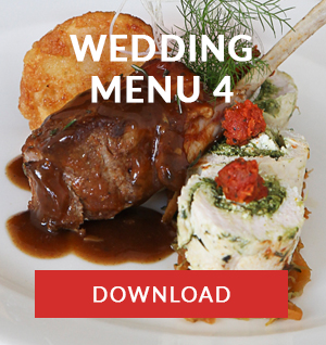 WEDDING MENU 4 catering cape town