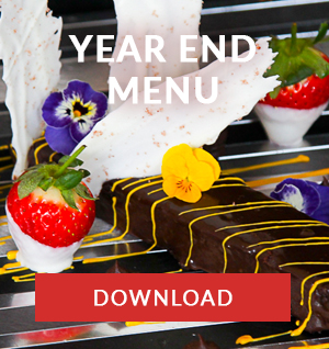 year end menu catering cape town